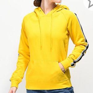 Yellow Hoodie from Zumiez